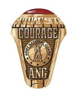 Army National Guard Ring