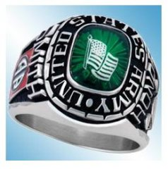 Army Retirement Rings