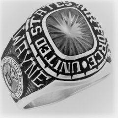 Air Force Ring - Premium Silver