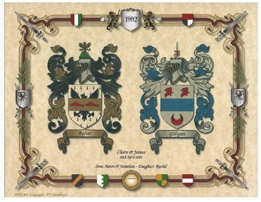 Rafter and Gilligan coat of arms