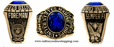 marine corps rings in gold