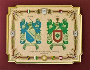 Double Coat of Arms Print