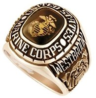 Marine Ring - Gold Celestrium
