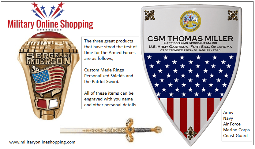 Popular Military Retirement Gift Ideas | Army Gifts | Military Shopping WD98