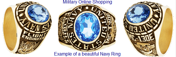 uss midway navy rings