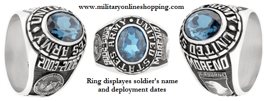 classic military rings