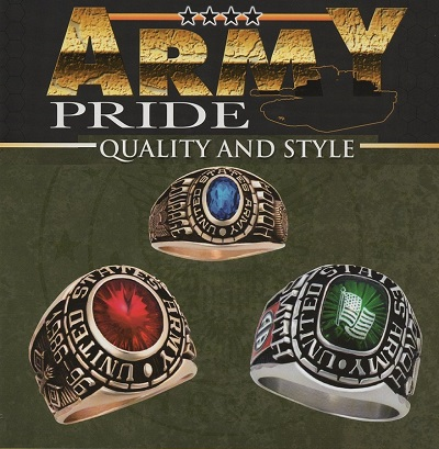 army rings - gifts for husband