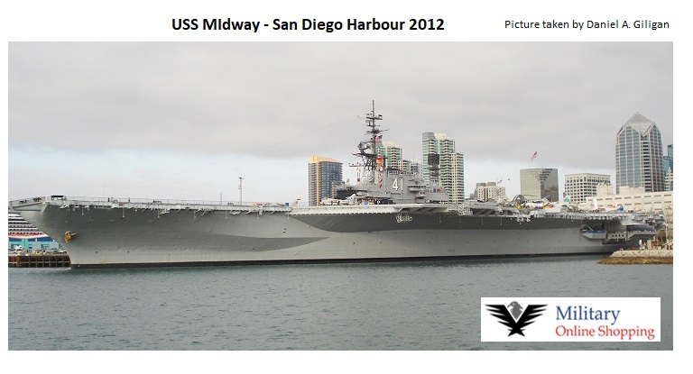 USS Midway - Navy rings